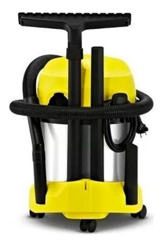 aspiradora karcher wd3 premium 1000w 17 lts + manguera 15mts