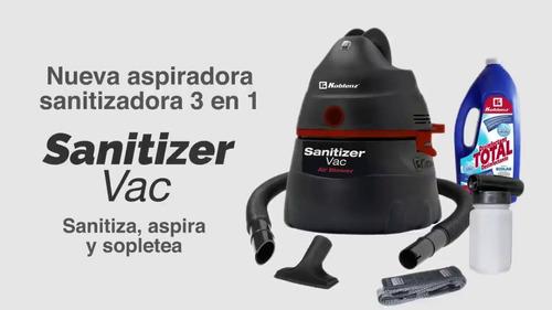 aspiradora koblenz sanitizer vac 3-1 desinfecta virus