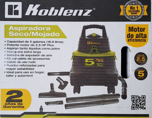 aspiradora koblenz wd.5kcon kity ruedas super precio
