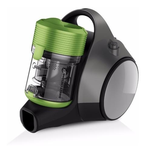 aspiradora midea sin bolsa direct cyclone 1400 w lime green