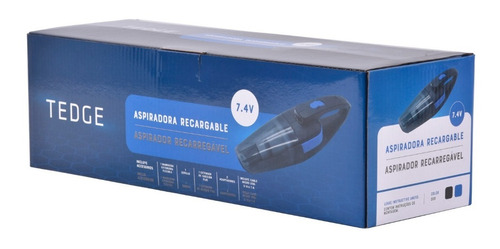 aspiradora para auto inalámbrica recargable 7.4v