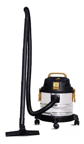 aspiradora polvo liquido lusqtoff 15lts la-1500 tacho inox.