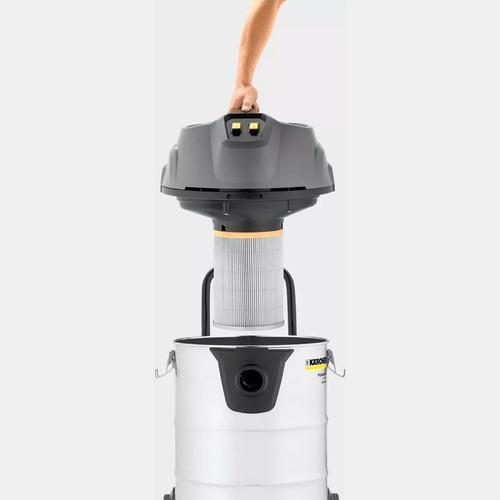 aspiradora polvo líquidos vidrios kärcher nt70 + manguera