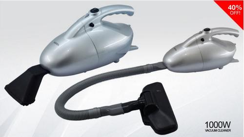 aspiradora portatil para casa u oficina 220v potencia 1000w