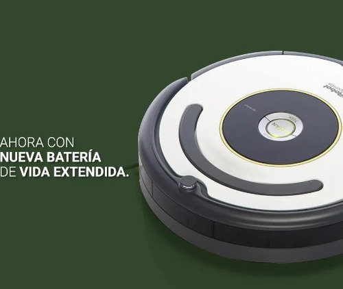 aspiradora robot inteligente irobot roomba 621 garantía