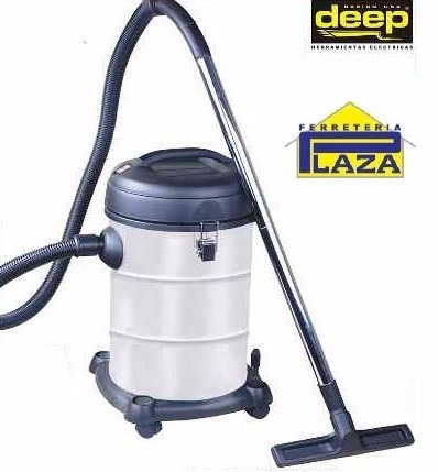 aspiradora sólido/líquido 30 lts 1200w deep d8880