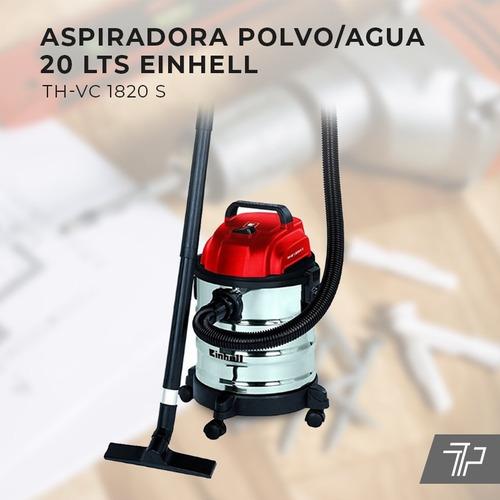 aspiradora sopladora industrial einhell 20l polvo agua auto!