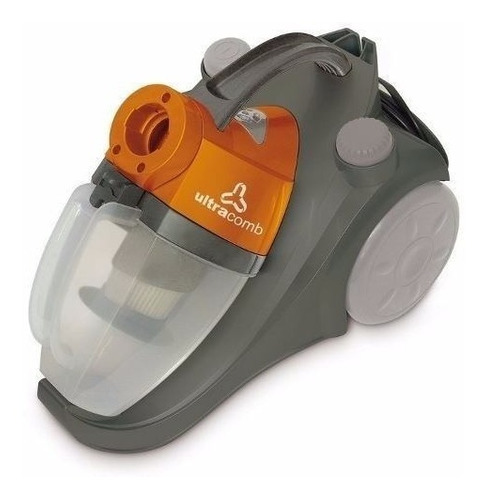 aspiradora ultracomb 1600w sin bolsa filtro