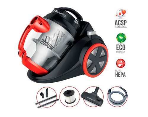 aspiradora ultracomb 4228 3,5 litros 2000 watts sin bolsa