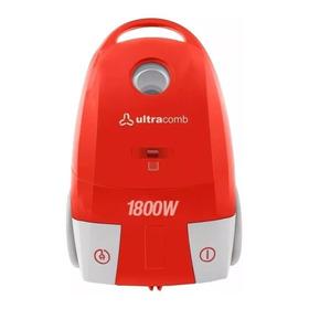 Aspiradora Ultracomb As-4218 3.5l Roja/blanca