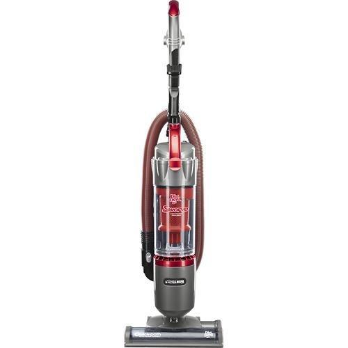 aspiradora vertical sin bolsa - rojo
