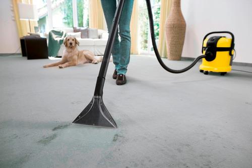 aspiradora y lavadora de alfombras karcher se 4001