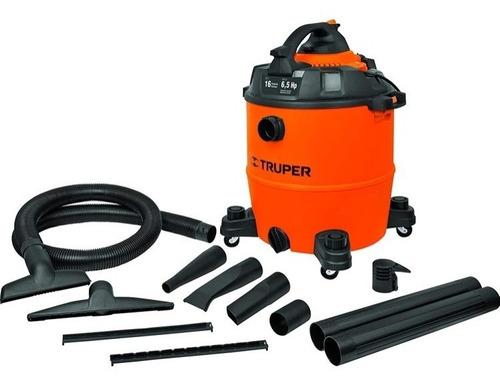aspiradora/sopladora plástica 6.5 hp 16g(60l) 11100 truper