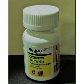 Aspirina Americana 81 Mg 250 Pastas Usa