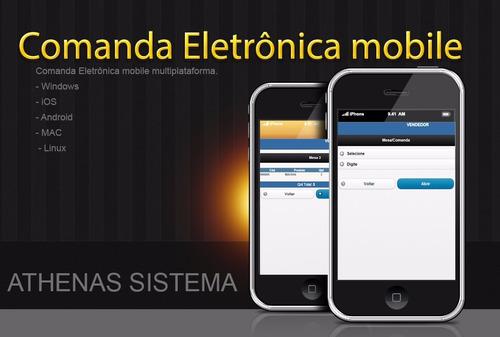 aspx comanda eletrônica mobile multiplataforma net