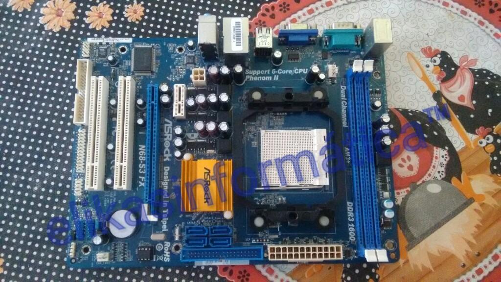 Asrock N68C-S NVIDIA Drivers PC