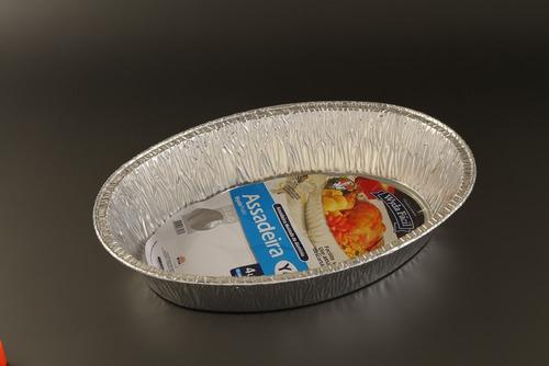 assadeira aluminio oval 4l