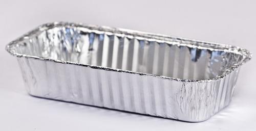 assadeira de bolo inglês 650 ml em alumínio pacote c/ 10 un.