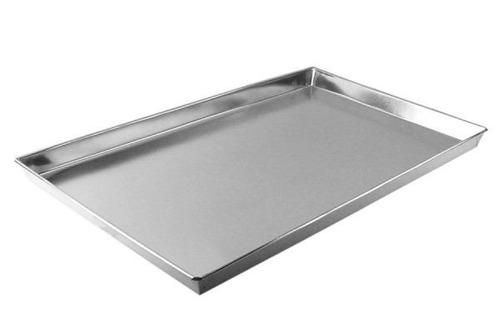 assadeira para pao doce em alumínio (reta) - 15 unidades