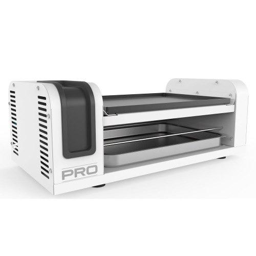 assador espetinho e grill profissional-branco 110v ou 220v