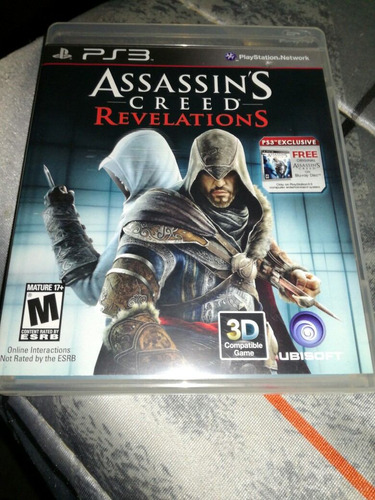 assasin's creed revela ruina - ps3 envío gratis!!! dhl