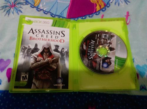 assassin creed brotherhood xbox 360