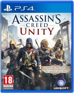 assassin creed unity usado ps4