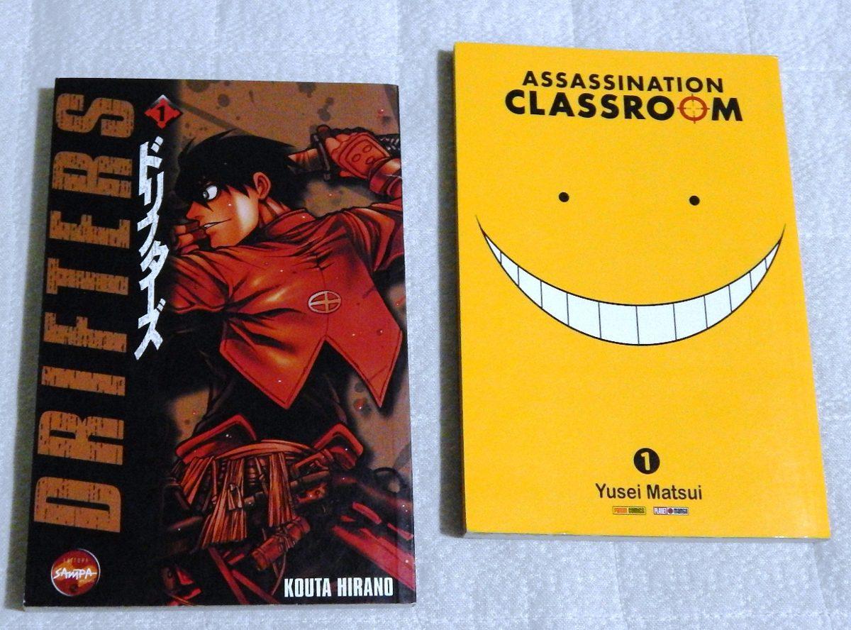 Assassination Classroom Nº01 / Mangá Drifters Vol 01
