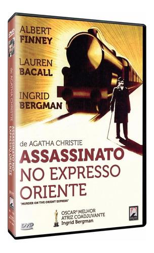 assassinato no expresso oriente - dvd - albert finney