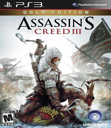 assassins creed 3 ps3 edicion oro en  español
