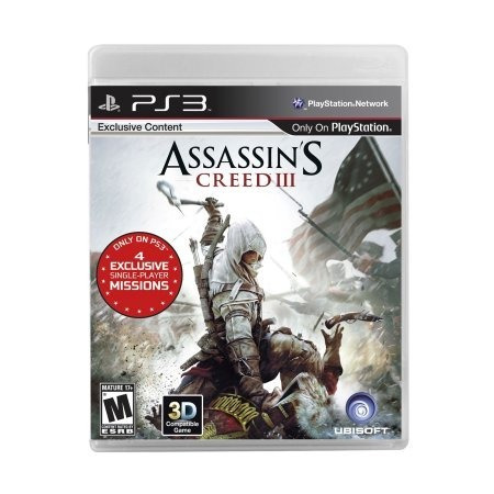 assassins creed 3 ps3 original