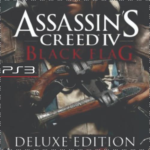 assassins creed 4 black flag deluxe ps3 psn midia digital