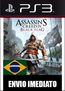 assassins creed 4 black flag portugues - ps3 psn digital
