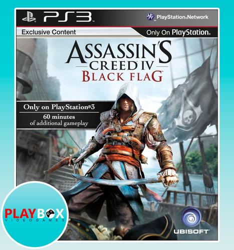 assassins creed 4 black flag ps3 [digital]