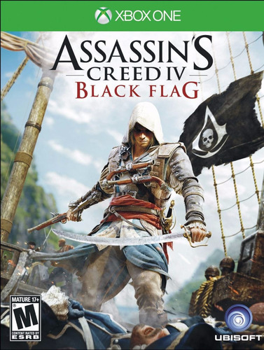 assassin's creed 4 black flag xbox one nuevo, sellado