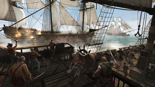 assassin's creed 4 iv black flag ps4 delivery stock ya