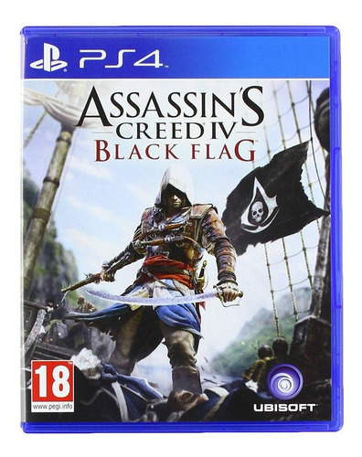 assassin's creed 4 iv black flag ps4 original fisico sellado