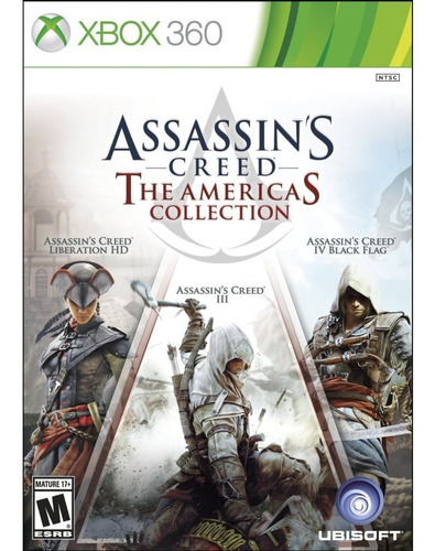 assassin's creed: americas collection 360 nuevo