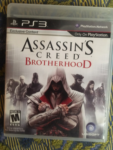assassins creed brotherhood como nuevo!