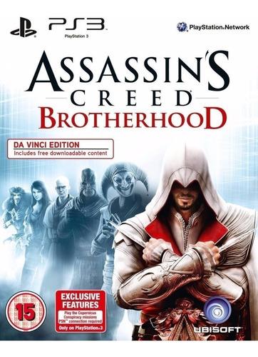 assassins creed brotherhood + dlc ~ ps3 digital español
