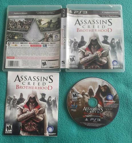 assassins creed brotherhood - fisico / playstation 3 ps3