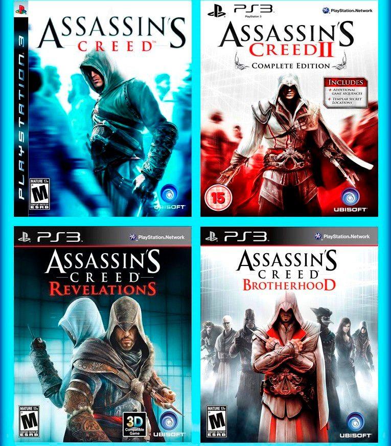 assassins creed 1 2 revelations y brotherhood ps3 digital 149