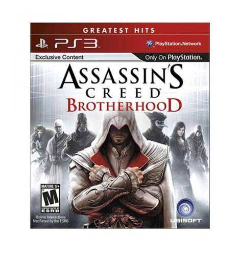 assassin's creed: brotherhood ps3 - juego fisico - prophone