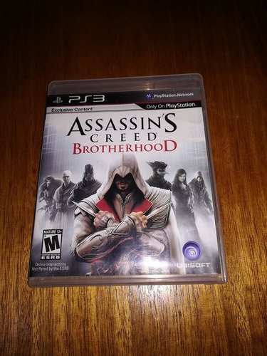 assassins creed brotherhood ps3 original