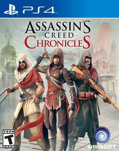 assassin's creed chronicles-playstation 4 edición estándar