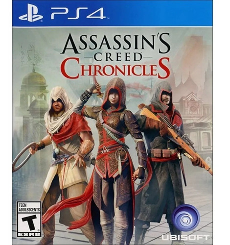 assassins creed chronicles ps4 juego fisico playstation 4
