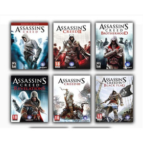 Assassins Creed Collection ( Ps3 Y Xbox One)