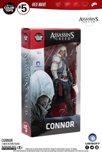 assassins creed connor color tops ( original) mcfarlane