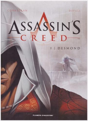 assassins creed desmond ed planeta deagostini nuevo - jxr