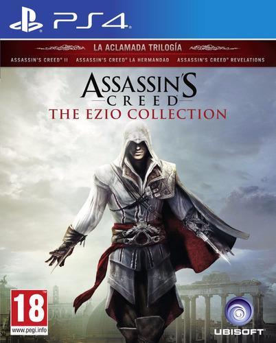 assassin's creed ezio collection ps4 fisico sellado